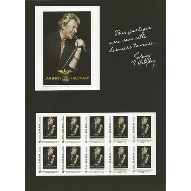 bloc timbres johnny hallyday
