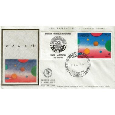 FOLON 1982 PHILEXFRANCE