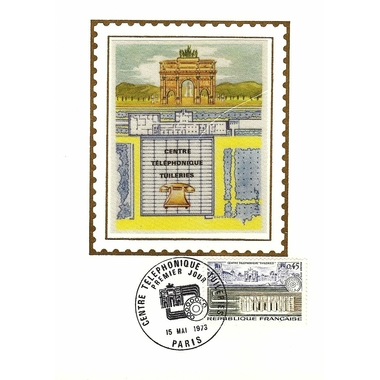 1973 CENTRE TELEPHONIQUE DES TUILERIES
