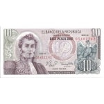 BILLET COLOMBIE 10 PESOS