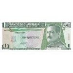 BILLET GUATEMALA 1 QUETZAL