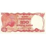 BILLET INDONESIE 100 RUPIAH 1984