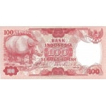 BILLET INDONESIE 100 RUPIAH 1977