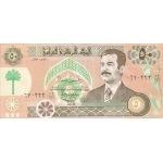 BILLET IRAK 50 DINARS