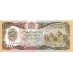 BILLET AFGHANISTAN 1000  AFGHANIS