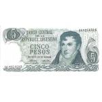 BILLET ARGENTINE 5 PESOS
