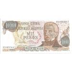 BILLET ARGENTINE 1000 PESOS