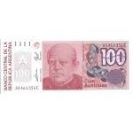 BILLET ARGENTINE 100 AUSTRALES