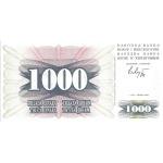 BILLET BOSNIE 1000 DINARA