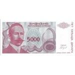 BILLET BOSNIE 5000 DINARA