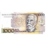 BILLET BRESIL 1000 CRUZADOS