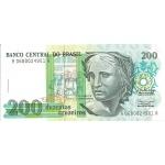BILLET BRESIL 200 CRUZEIROS
