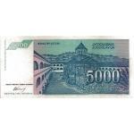 yougoslavie5000dinara