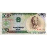 BILLET VIETNAM NORD 50 DONG