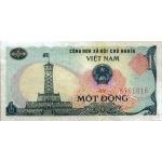 BILLET VIETNAM NORD 1 DONG