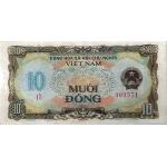 BILLET VIETNAM NORD 10 DONG