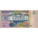 BILLET SURINAM 5 GULDEN