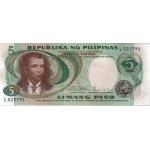 BILLET PHILIPPINES 5 PESOS