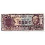 BILLET PARAGUAY 1000 GUARANIES