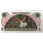 BILLET OUGANDA 5 SHILLING