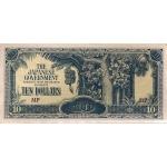 BILLET MALAISIE 10 DOLLARS