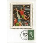 CARTE MAXIMUM 1970 / CHAMPIONNAT DU MONDE DE HAND BALL / PARIS
