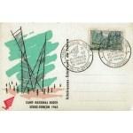 CARTE MAXIMUM 1965 / CAMP NATIONAL ROUTE ÉCLAIREUR DE FRANCE / CHORGES