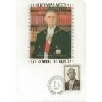 CARTE MAXIMUM 1971 / HOMMAGE AU GÉNÉRAL DE GAULLE