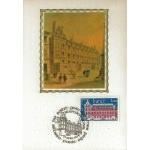 CARTE MAXIMUM 1979 / ABBAYE DE ST GERMAIN DES PRES / PARIS