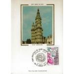 CARTE MAXIMUM 1977 / TOUR ABBATIALE DE ST AMAND LES EAUX / ST AMAND LES EAUX
