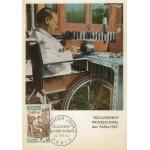 CARTE MAXIMUM 1964 / RECLASSEMENT PROFESSIONNEL DES PARALYSES / PARIS