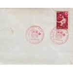 """ENVELOPPE 1er JOUR 1969 / CROIX ROUGE MIGNARD """"L'AUTOMNE"""" / TROYES"""