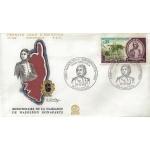 ENVELOPPE ILLUSTRÉE 1er JOUR 1969 / BICENTENAIRE DE LA NAISSANCE DE NAPOLÉON