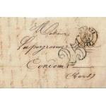 PLI LETTRE 23 JANVIER 1853
