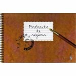 CARNET DE TIMBRES PORTRAITS DE RÉGIONS / FRANCE A VIVRE 2003