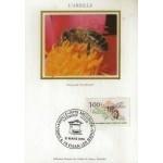 CARTE MAXIMUM 1979 / L' ABEILLE / EVIAN LES BAINS
