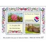 BLOC FEUILLET FRANCE 1993 SALON TIMBRE PARC FLORAL PARIS N°15