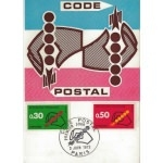 CARTE MAXIMUM 1972 / CODE POSTAL / PARIS N°2