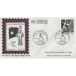 ENVELOPPE ILLUSTRÉE 1er JOUR 1988 / LA BANDE DESSINÉE FRANÇAISE / MODÈLE LIMITÉ N°6