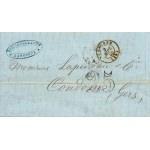 PLI LETTRE 5 SEPTEMBRE 1853