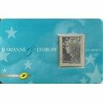 MARIANNE DE BEAUJARD EN ARGENT AUTOADHÉSIF NEUF 2008 N° YT 4242 / 193