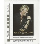 TIMBRE JOHNNY HALLYDAY AUTOADHÉSIF COLLECTOR NEUF