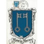 CARTE MAXIMUM 1966 / MONT DE MARSAN BLASON / MONT DE MARSAN