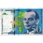 BILLET FRANCE 50 FRANCS 1993 ST EXUPERY