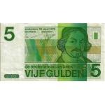 BILLET PAYS BAS 5 VERSO