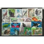 ANIMAUX 25 TIMBRES FRANCE
