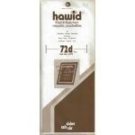 HAWID POCHETTES DE PROTECTION POUR TIMBRES 210X72mm