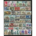 MONUMENTS 50 TIMBRES FRANCE