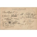 chateau de Chantilly 1926 verso
