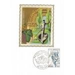 CARTE MAXIMUM 1975 / POITOU CHARENTES/POITIERS